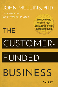 The Customer-Funded Business Book cover
