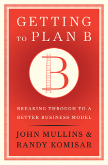 Getting to Plan B Book Cover